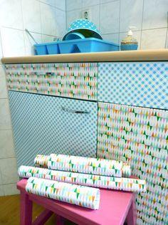 plakfolie op keukenkastjes plakken