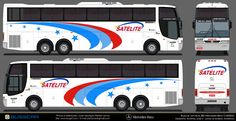 Onibus Marcopolo, Free Paper Models, Luxury Bus, Mercedes Benz, Cardboard Car, Cars, Paper Templates