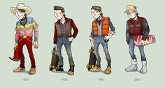 Marty McFly - Back to the Future - paulorocker.deviantart.com