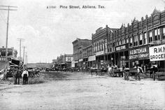 Once Upon A Time In Abilene, Texas...See More...