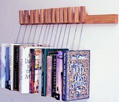 Oak Wooden Book Rack.