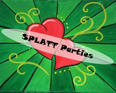DOUBLE LOVE Party Experience! Book Your Wine & Canvas Party TODAY!