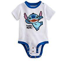 Stitch Disney Cuddly Bodysuit for Baby