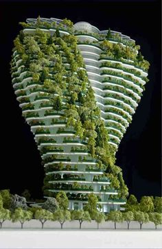Agora garden, luxurious residental tower Taipei, Taiwan by Vincent Callebaut - Agora garden, luxurious residental tower Taipei, Taiwan by Vincent Callebaut - Futuristic Architecture, Sustainable Architecture, Beautiful Architecture, Landscape Architecture, Landscape Design, Architecture Design, Residential Architecture, Pavilion Architecture, Classical Architecture