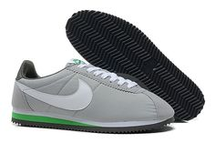 Nike Cortez V1 Grå Hvid Grøn Herre