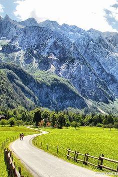 Logarska dolina / Logar Valley in Savinja and Šalek Valley, Slovenia