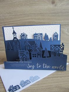 Triple Layer Edgelit Card I designed this card to show off the gorgeous new Hearts Come Home stamp set and Hometown Greetings Edgelits Die...