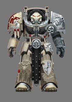 Terminator of Deathwing Company, the elite 1st Legiones Astartes Dark Angels pledges his service to the Deathwatch