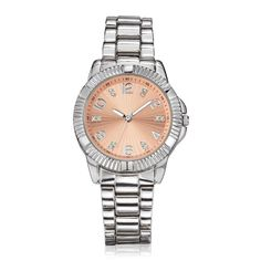 ANNIVERSARY SPECIAL: Only $29.99, a $90.00 value!Avon's 130 years celebration. Celebrating our heritage. Creating our future.A classically chic bracelet watch set in silvertone with 12 genuine diamond accents marked on the dial.