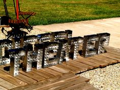 Movie THEATER Marquee Letter Light Channel Any Letter by Aranacci, $149.00