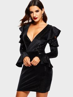 b2d4c7c2ec962 7 Best Kinikiss Bodycon Sequins Dress images in 2019