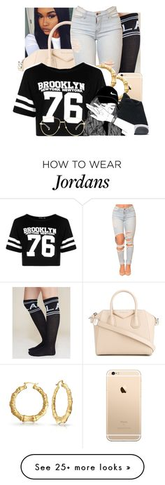 """""""untitled #7"""" by onedea21 on Polyvore featuring Givenchy, Wet Seal, Bling Jewelry, NIKE, Boohoo and Gucci"""