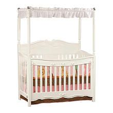 Disney Princess Enchanted Convertible Crib - White Fell in love with this today, NEED to get this for Princess Eva Arabella :) Saving my pennies!