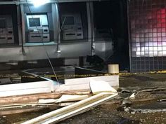 Criminosos explodem caixa eletrônico em agência do Recanto das Emas.