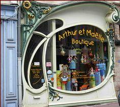 Art Nouveau Shop, Arthur et Maelle Boutique