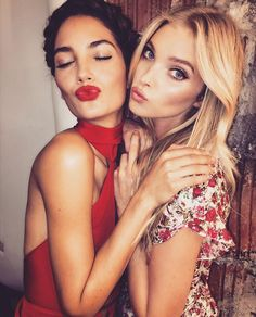 You know is going to be a good day when this one is around ❤️ @lilyaldridge