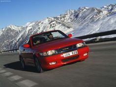 Saab 9-3 Convertible - there is just something about them that makes them awesome, then again its a saab no wonder. :)