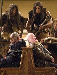 Night at the Museum Actors | Bill Cobbs and Mickey Rooney in 20th Century Foxs Night at the Museum ...