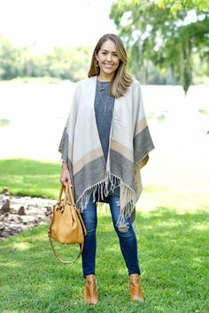Poncho and tunic from Ross