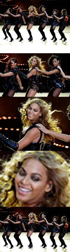 Beyonce Super Bowl Face Swap
