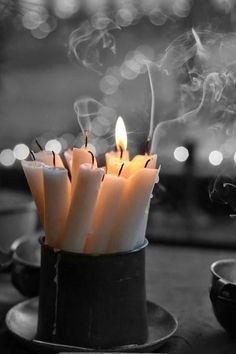 Light candles freely & often. Candlelight is hygge. Light candles freely & often. Candlelight is hygge. Hygge Life, Holiday Candles, Jolie Photo, Candle Lanterns, Candle Lighting, Candleholders, Candlesticks, Cozy, In This Moment