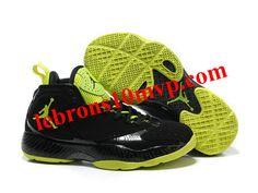 Air Jordan 2012 Basketball Shoes Black/Yellow