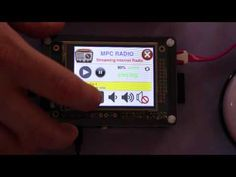 Raspberry Pi radio player with touchscreen