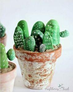 DIY fake cactus