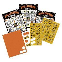 Spritz Halloween Bingo