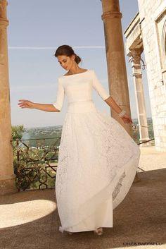 Linea Raffaelli trouwjurk bij Bruidsmode Lisa