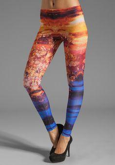 e6269b6c2847f Printed Leggings - Lyst Leggings Are Not Pants, Women's Leggings, Printed  Leggings, Style
