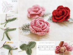 This free easy crochet rose pattern is the perfect project to add a little beauty to your world. It is super easy and work up quickly. It will be a perfec