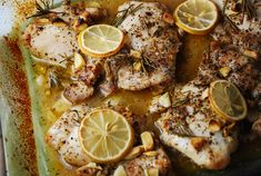Lemon Rosemary Chicken Recipe – 4 Points   - LaaLoosh
