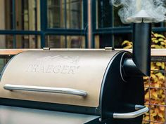 Pick out a grill at your local Traeger dealer.
