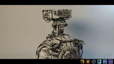 Best of Term Fall 2013 – Hard Surface Modeling. Student Work by Omar Aweidah.
