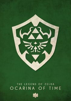 Minimalist Poster Designs by Timmy Burrows. Legend of Zelda Ocarina of Time