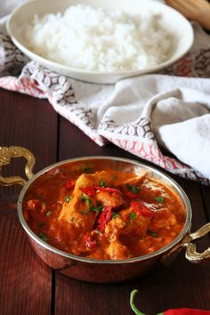 Indické kuřecí kari – Vařeniště Curry, Food And Drink, Ethnic Recipes, Fitness, Diet, Asia, Recipes, Mexico, Curries