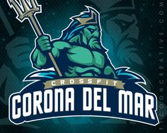 Crossfit Corona Del Mar Branding on Behance - American Logo Sport Theme
