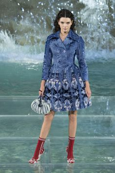 Models Walked on Water at Fendi's 90-Year Anniversary Show in Rome - Fashionista