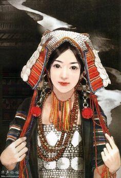 China, costumes.