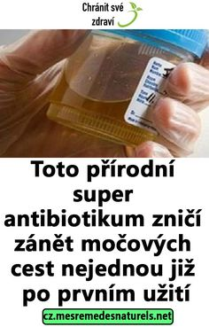 Toto přírodní super antibiotikum zničí zánět močových cest nejednou již po prvním užití Natural Medicine, Graham Crackers, Keto Recipes, Health Fitness, Soap, Detox, Personal Care, Homemade, Hair Beauty