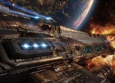 The Physics Of Space Battles. A VERY interesting article...
