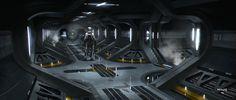 Sci Fi Corridor 2 by ATArts on DeviantArt