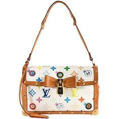 3d4048be1880 Louis Vuitton Limited Edition Monogram Multicolore Eye Miss You Shoulder  Handbag Louis Vuitton Handbags