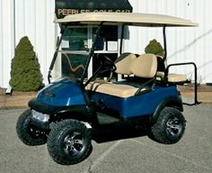 30 Best Golf Carts images | Golf carts, Electric, Used golf carts Golf Cart Club Car Carryall Lift Kit on