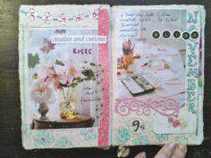 The Painted Flower: Art Journaling...