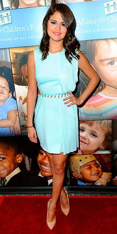 SELENA GOMEZ photo   Love the color of this dress