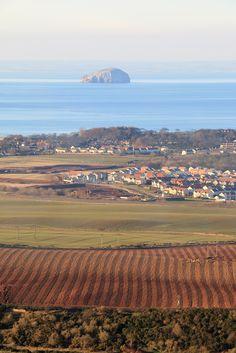 The Bass Rock - From Doonhill Homestead near Dunbar, East Lothian, Scotland