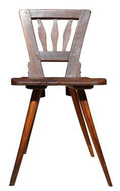 Chair - Rare American Folk Chair - OFC69