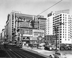 900 block of South Broadway, Los Angeles, 1939